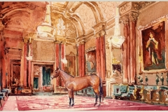 interiorwith horse