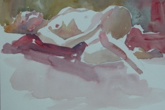 recliningnude